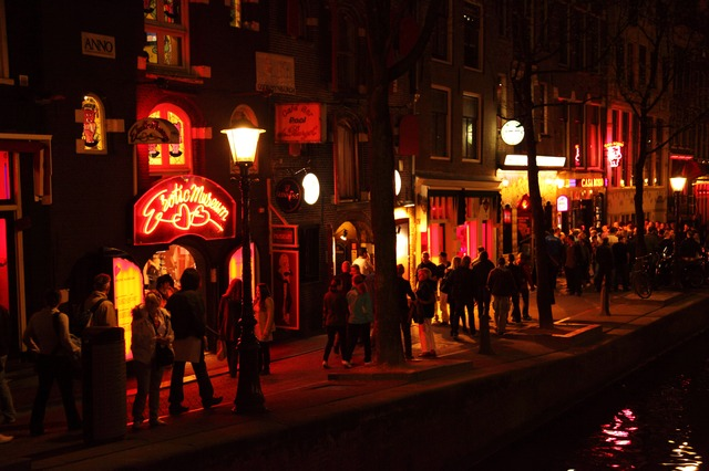 the red lights district